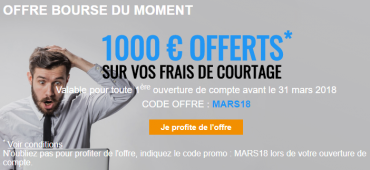 Offre Bourse Direct Mars 2018
